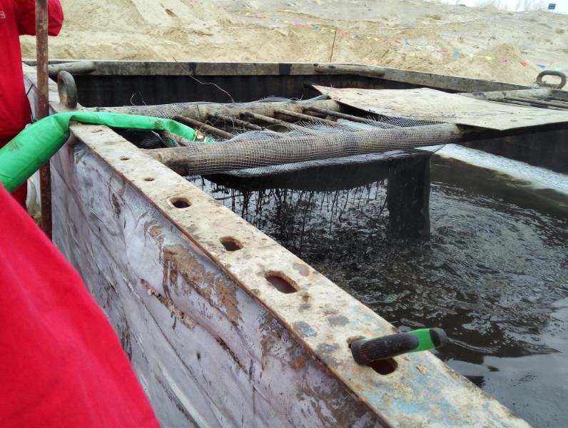 油田注水海线清洗